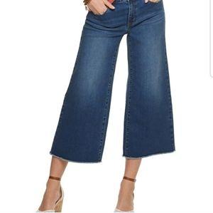 Apt. 9 High Rise Wide Leg Crop Jeans